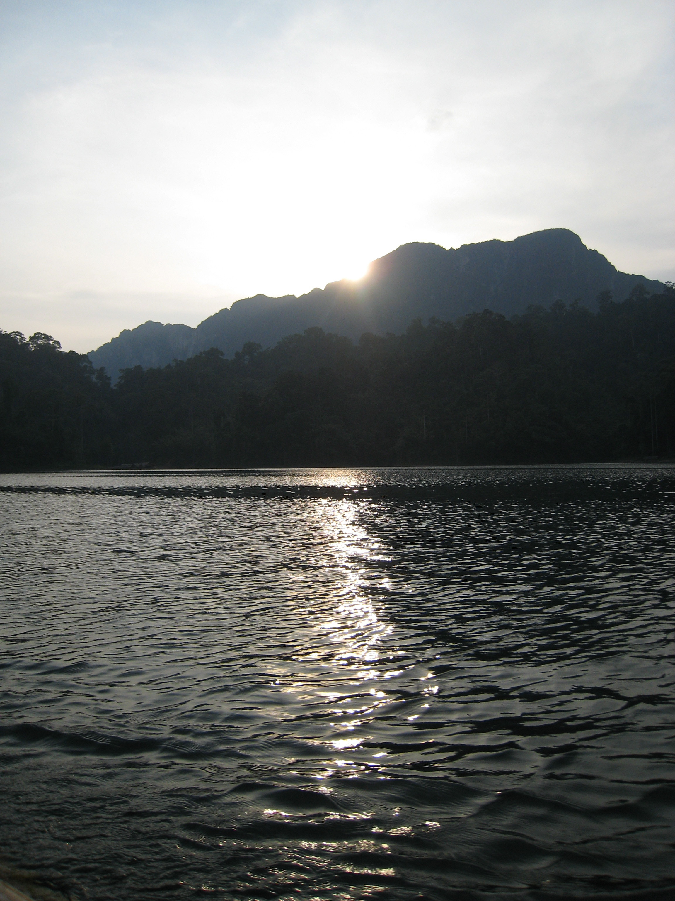 Sunset over Khao Sok