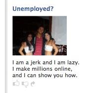 Funny Facebook Ad